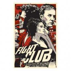 fight club comics sublimation tee shirt
