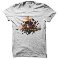 Samurai Champloo white sublimation t-shirt