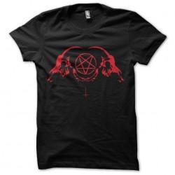 tee shirt pentagrame...