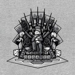 tee shirt monopoly got gris sublimation