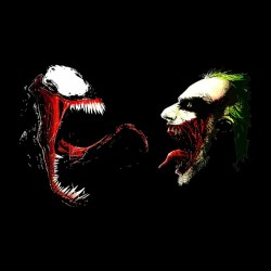 joker t-shirt vs alien sublimation