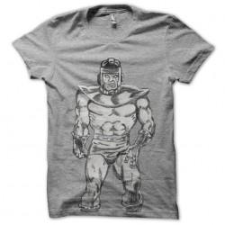 tee shirt controller gris...