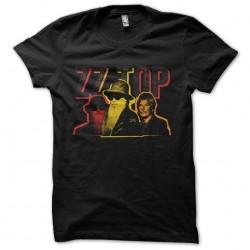 t-shirt zz top quadri...