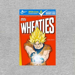 songoku cereales t-shirt dragon ball sublimation