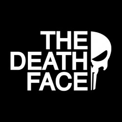 The Punisher the death face sublimation