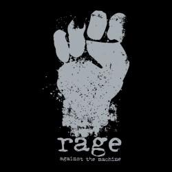 t-shirt rage againt the machine chrome sublimation