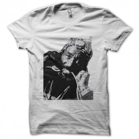 Lee Perry fan art white sublimation t-shirt
