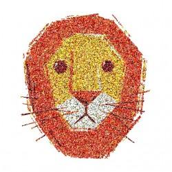 cat lion sublimation tee shirt