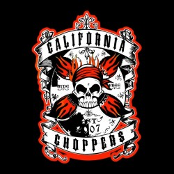 t-shirt california choppers sublimation