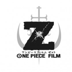 One piece film Z logo white sublimation t-shirt