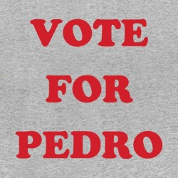 voting shirt for pedro sublimation