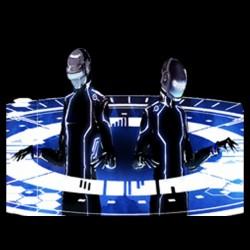T-shirt daft punk tron legacy1 black sublimation