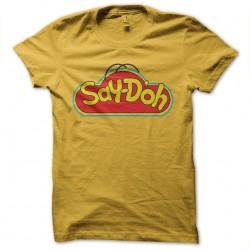 t-shirt playdoo simpsons...