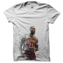 tee shirt cleveland 23 basketball sublimation