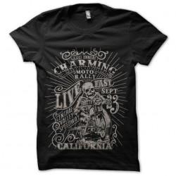 tee shirt charming moto...