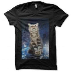 cat techno t-shirt in da...