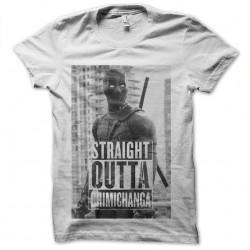 tee shirt deadpool straight outta chemichanga sublimation