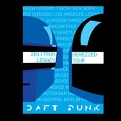 T-shirt daft punk tron legacy2 black sublimation