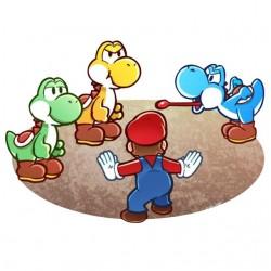 Jurassic shirt Mario World...
