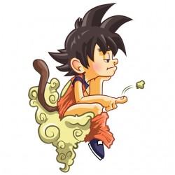dragonball goku white...