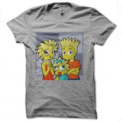 shirt simpson version manga...