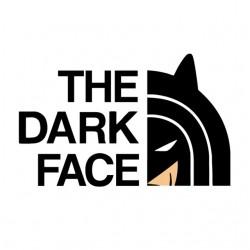shirt The Dark Face white...