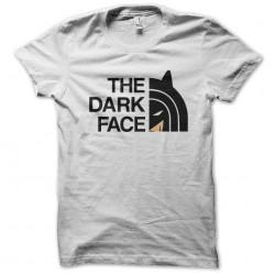 shirt The Dark Face white sublimation