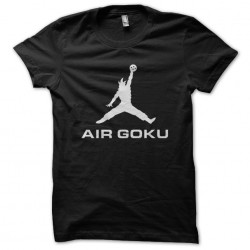 shirt air goku black...