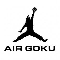 shirt air white goku...
