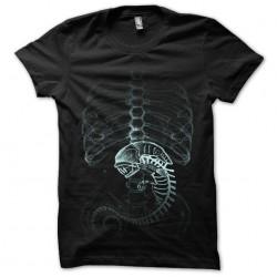tee shirt film xray alien...