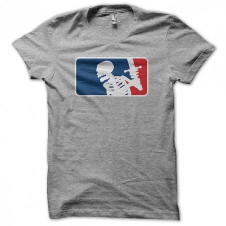 T-shirt RPG parody NBA gray sublimation