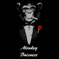 monkey business shirt black sublimation
