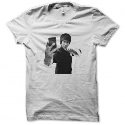 tee shirt Bruce Lee Selfie  sublimation
