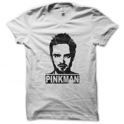 pinkman sublimation white shirt