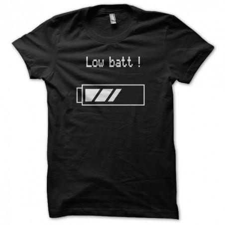 Low Battery black sublimation t-shirt