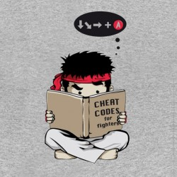 tee shirt street fighter funny gris sublimation