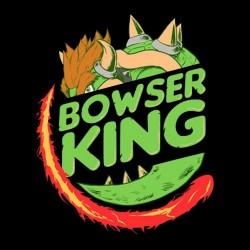 shirt bowser king black sublimation