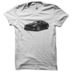 Super white sublimation car shirt