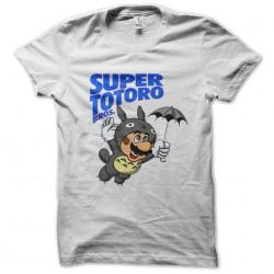 tee shirt super totoro bros  sublimation