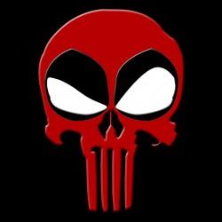 Dead Punisher black sublimation shirt