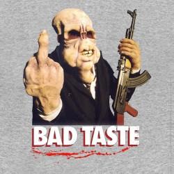 tee shirt bad taste gris sublimation