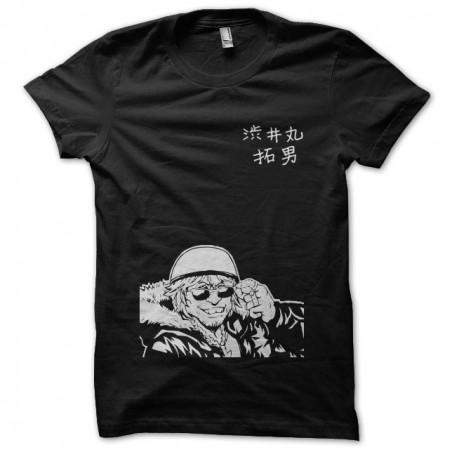 Shibutaku death note t-shirt black sublimation