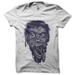 Geek Shirt Zombie White Sublimation