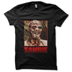 black zombie sublimation shirt