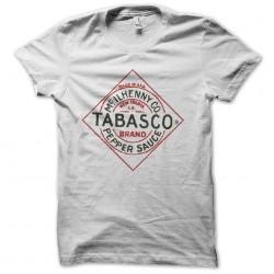 shirt tabasco white sublimation
