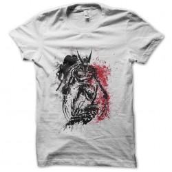 wolverine white artwork sublimation shirt