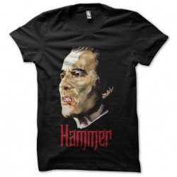 black sublimation hammer shirt