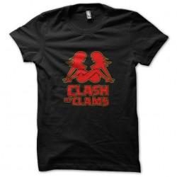 clash of clams shirt black...