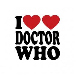 Tee shirt I love Doctor Who...