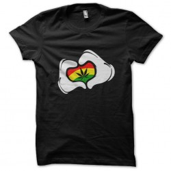shirt love marijuana black...